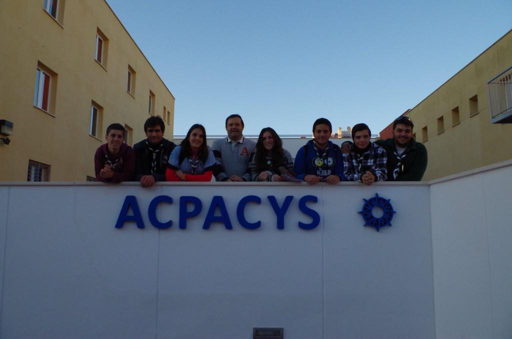 Unidad Esculta Malvasía en el centro de ACPACYS